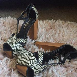 """DANY"" Platform Chunky heels"